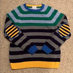 Hanna Andersson Boys Stripe sweater Sz 150